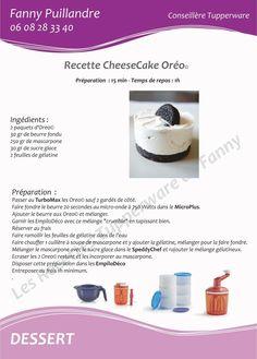Tupperware - Cheesecake Oreo