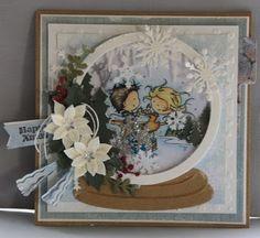 Christmas Cards, Xmas, Marianne Design, Daisy, Decorative Plates, Painting, Home Decor, Christmas E Cards, Decoration Home