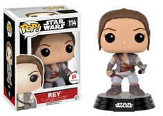 Star Wars The Force Awakens: Rey in outfit from end of the movie Pop figure by Funko, Walgreens exclusive