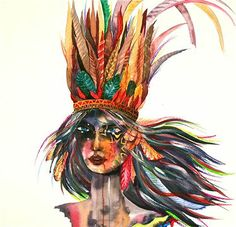 Warrior Girl 2  Ana Kuni Art