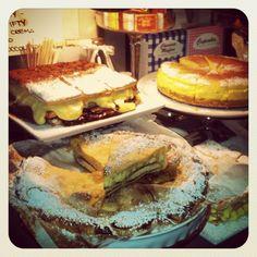 Apple&Custard cake!