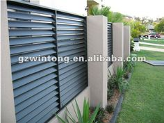 how to build louvered fence | 2012 Aluminium Fence For Garden China Balustrades & Handrails