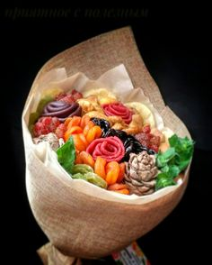 Полезный букет из сухофруктов,идеален для мам бабушек ,учителей ,врачей.Тюмень,доставка по Тюмени