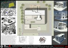 Elaboration Project, Villa Stein De Monzie, Le Corbusier - Picture gallery