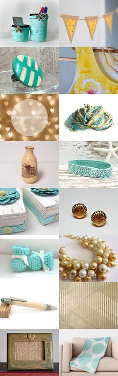 Summer Sunshine by Olga on Etsy--Pinned+with+TreasuryPin.com