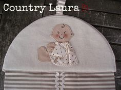 Portapannolini by Country Laura