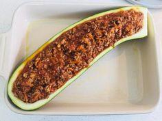 Fyldt squash Baking Recipes, Healthy Recipes, Healthy Food, Squash, T Bone Steak, Sous Vide, Bolognese, Beignets, Quinoa