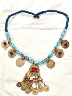 SALETRIBAL KUCHI necklace belly dance necklace bohemian by Nezihe1, $29.00