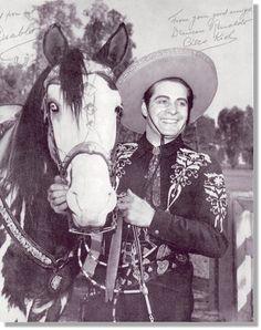 *Cisco Kid and his horse, Diablo
