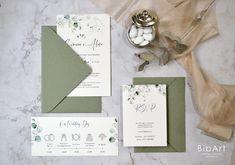 2.00 euro cad. Invito nozze matrimonio greenery - 50 pezzi Euro, Greenery, Envelope, Wedding Invitations, Gift Wrapping, Cards, Handmade, Gifts, Gift Wrapping Paper