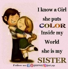 Ideas birthday happy sister quotes sibling so true for 2019 Brother And Sister Relationship, Brother Sister Quotes, I Love My Brother, Sister Day, Sister Birthday Quotes, Birthday Wishes For Myself, Happy Birthday Sister, Niece Quotes, Dad Quotes