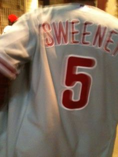 Philadelphia Phillies Mike Sweeney Jersey I seriously underestimated how  popular the guy was in his 2 months in town 8fce90e96d7