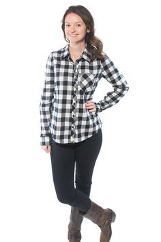 X-Cheyenne Tunic, womens woven button down shirt with collar or half placket with