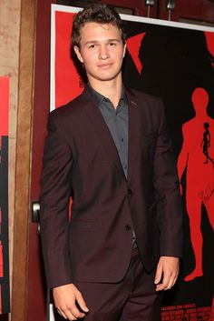 Ansel Elgort aka Augustus Waters who I'm already in love with and I'm only on chapter five!