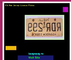 Old new jersey license plates 190744 - The Best Image Search