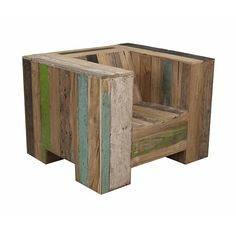 The Enormous Chair by Piet Hein Eek - Home Decorating Trends