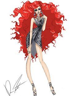 Disney fashion frenzy, Ariel, Living on land by Daren J