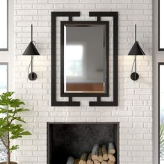 All Modern, Modern Decor, Modern Contemporary, Modern Wall, Modern Bedroom, Room Color Schemes, Room Colors, Vanity Set With Mirror, Mirror Mirror