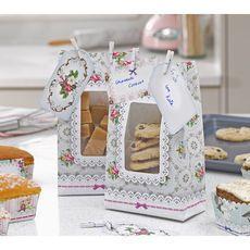 12 sachets à gâteaux vintage - http://www.instemporel.com/s/12287_171759_-12-sachets-a-gateaux-motif-vintage