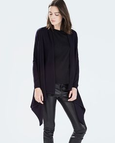 ZARA - WOMAN - JACKET WITH POINTED FRONT