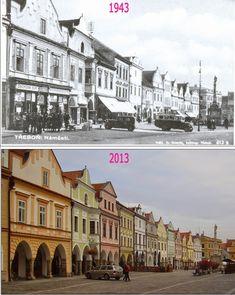 Přehled srovnávacích fotek: TŘEBOŇ (Jihočeský kraj) Czech Republic, Prague, Mansions, House Styles, City, Places, Bohemia, Historia, Fancy Houses