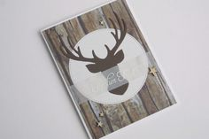Weihnachten+Karte+Hirsch+von+Das+Werk+der+Feen+auf+DaWanda.com