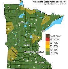 Fall Color Finder: Minnesota DNR