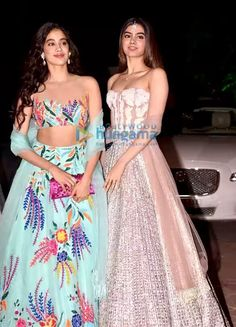 Janvi kapoor and khushi kapoor for Diwali party 🎉