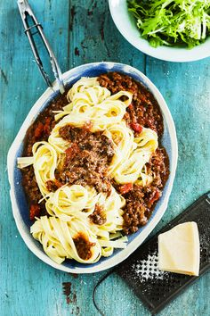 fettucine bolognese - Lucy tweed stylist
