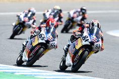 From Vroom Mag... Red Bull Rookies, Jerez race 2: Viu holds on to Jerez 2 from Salač and Öncü