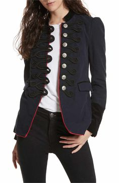 Main Image - Free People Seamed & Structured Blazer