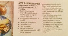 Appel & abrikozenchutney Jamie magazine