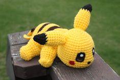 Pikachu Crochet Doll by rdekroon.deviantart.com on @deviantART
