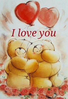by Florynda del Sol ღ☀¨✿ ¸.ღ ♡♥♡Happy Valentine's day! Teddy Bear Images, Teddy Bear Pictures, I Love You Husband, L Love You, Tatty Teddy, Teddy Beer, Good Morning My Angel, Cute Bear Drawings, Hug Quotes