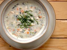Food Pusher: Creamy Chicken and Wild Rice Soup
