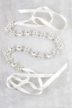 Lovoda - Daniella Bridal Belt, $25.00 (https://www.lovoda.com/daniella-bridal-belt/)