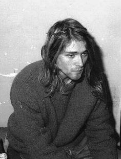 Kurt Cobain, Rome, Italy. November 26, 1989.