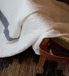 Alder & Co.: French linen waffle weave towels