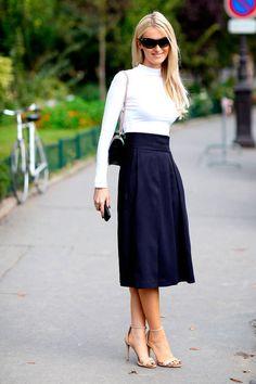 Captamos el estilo de las fashionistas francesas