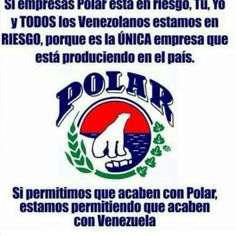 SOS VENEZUELA, SOS POLAR.