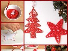 Adornos navideños hechos a mano - Taringa!                                                                                                                                                                                 Más