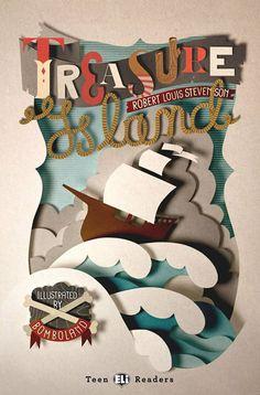 Treasure Island collage cover