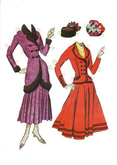 I've managed to find most of the paper dolls online that I enjoyed playing with as a child. Sometimes the search has taken a bitof effor...