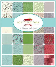 """HOLLY'S TREE Farm Jelly Roll - Sweetwater for Moda - 2.5"""" Precut Fabric Strips - Retro Christmas Fabric - Christmas Jelly Roll Xmas by Jambearies on Etsy https://www.etsy.com/listing/235146518/hollys-tree-farm-jelly-roll-sweetwater"""