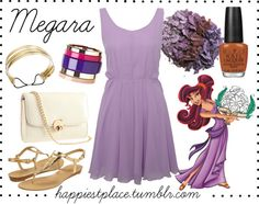 """""""Megara"""" by disneyinspired ❤ liked on Polyvore"""