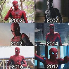 Which suit would you wear as The Spider-man? Via @spidey.mcu