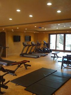 TV's in your own personal gym!!!