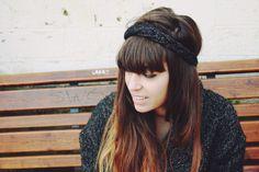 DIY Braided knit headband