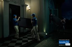 """""""Television Thieves"""" for Allianz by Grey group, Indonesia"""