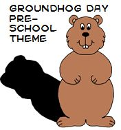 Song: I'm a little groundhog, Small and round. I sleep in a burrow Deep in the ground. I look to find my shadow On Groundhog Day To tell you if spring is On its way!